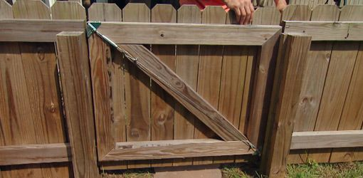 How To Fix a Sagging Gate