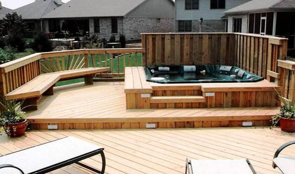 Let us Talk About Hot Tub Decking What You Need to Know