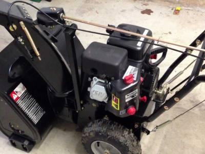 Remove Wheel from Sno Tek Snowblower