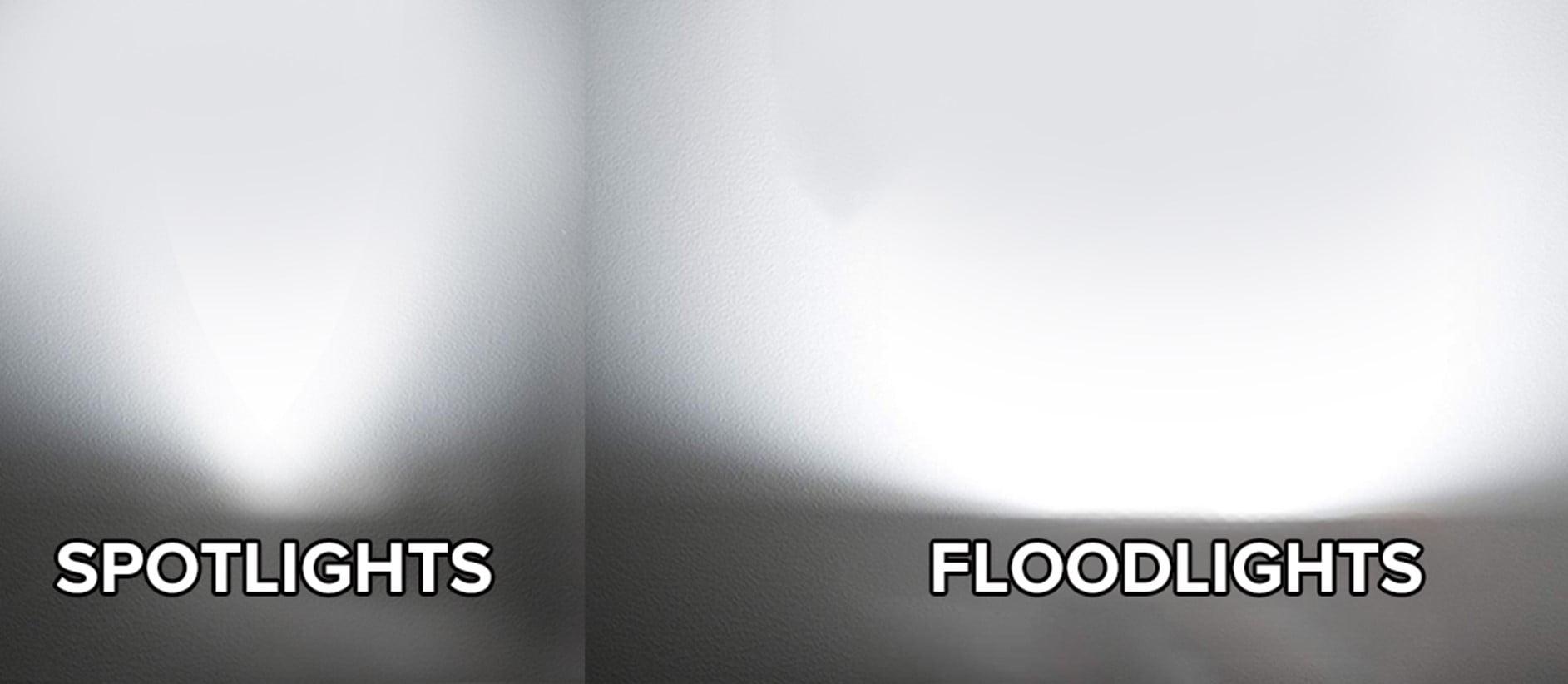 Spotlight Vs Floodlight