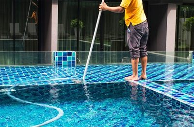 The Easiest Way to Vacuum an In-Ground Pool