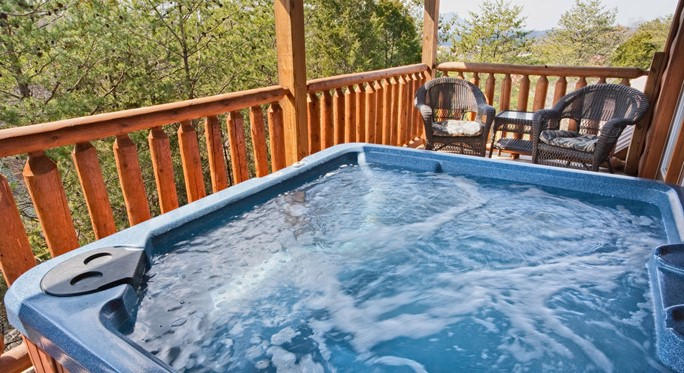 Water Source for Hot Tub