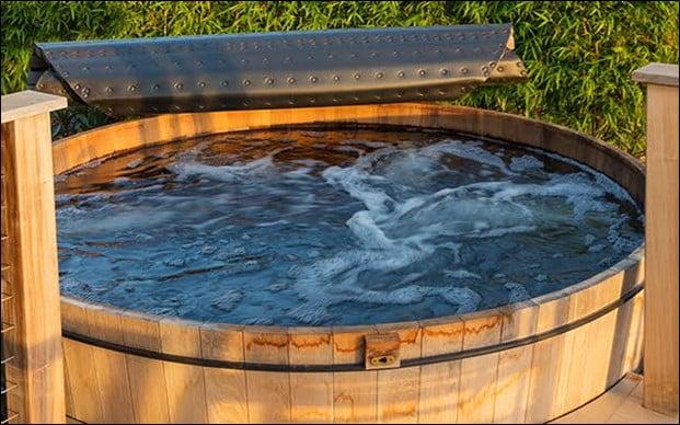 Wooden Stock Tank Pool
