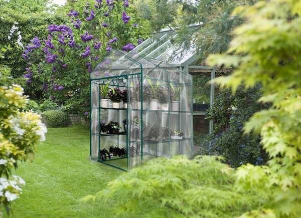 Clear Cover Greenhouse