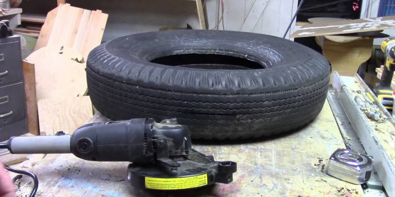 Easy Stepwise Solution to Cut a Steel Belted Tire