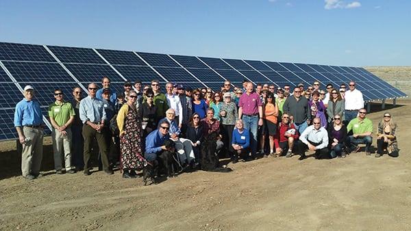 How Do Communities Form Solar Gardens