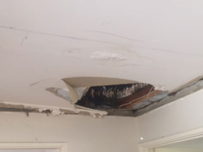 How To Fix a Sagging Ceiling