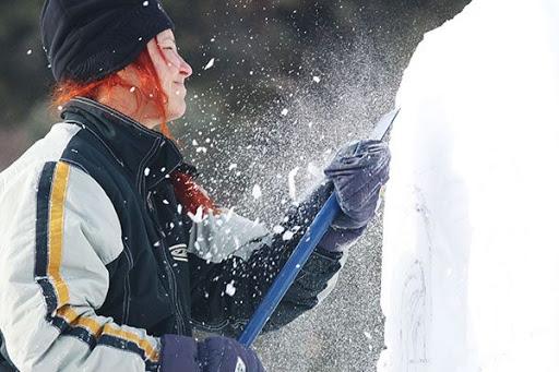 Make a Snow Sculpture