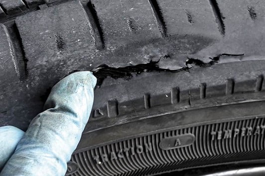 Piercing the Tire