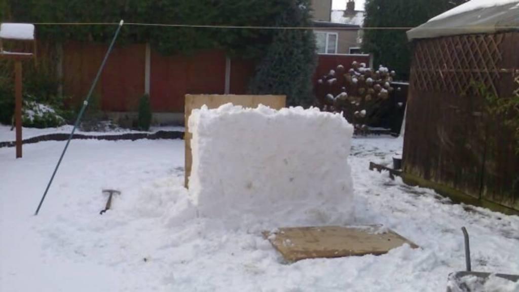 Snow Sculpture Base