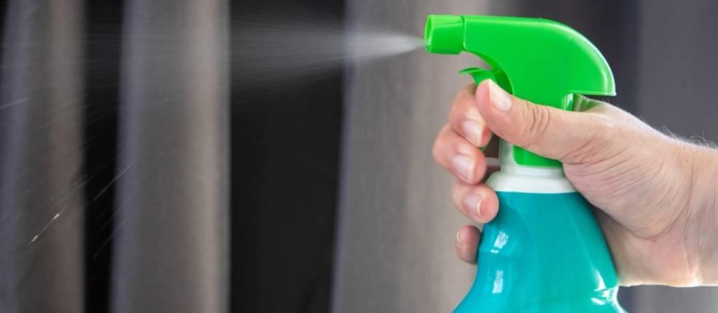 Spray the Solution