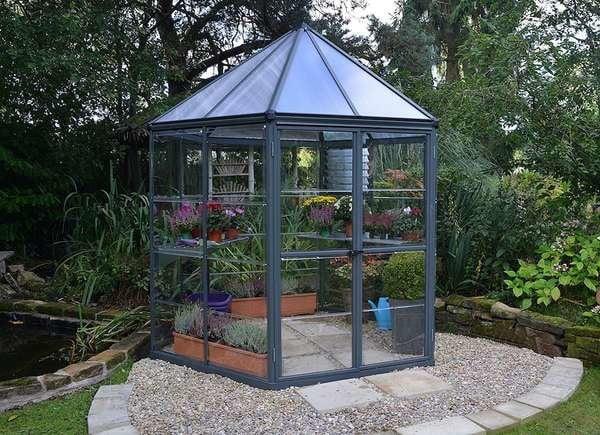 Sunny Oasis Greenhouse