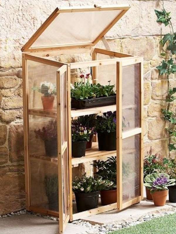 Tall and Slender Coldframe