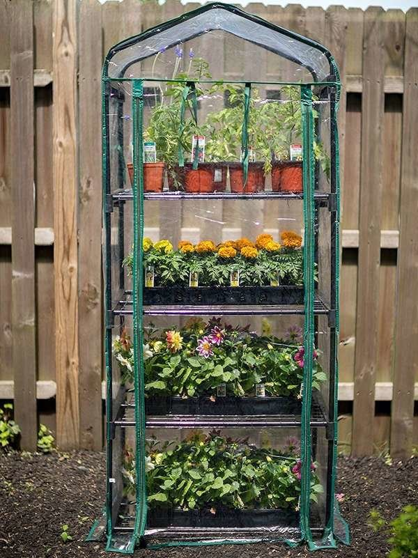 Tiered Tower Greenhouse