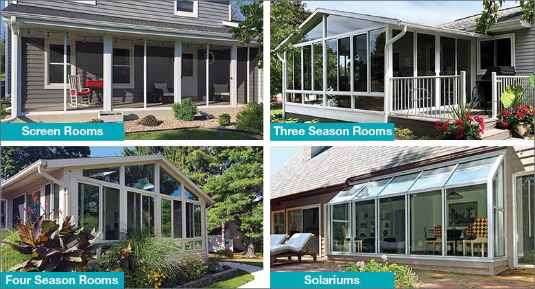 Types of Enclosed Patio