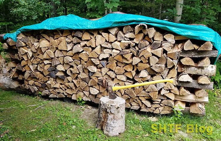 rick of firewood