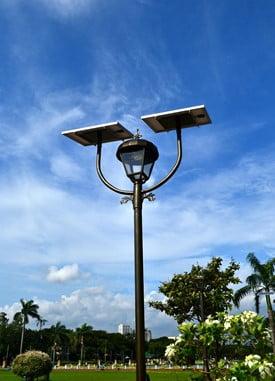 solar-powered illumination devices