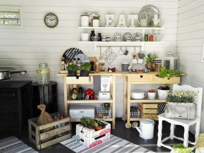 Summer, Yard, Kitchen, Garden, Flower, Summer Flower