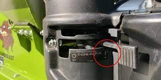 turn off Woodchipper engine