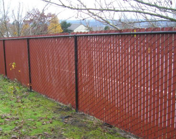 Chain Link Fencing for Privacy