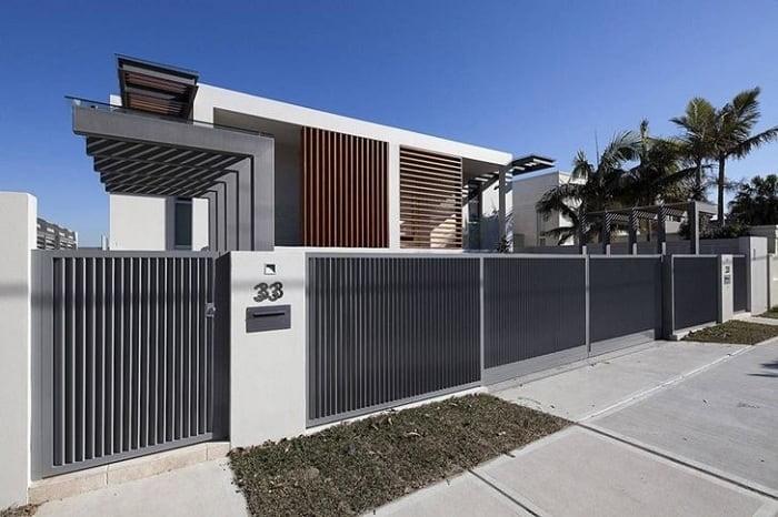 Front Fence Gate Design
