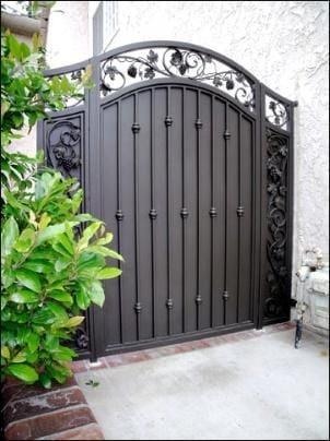 Iron Fence Gates