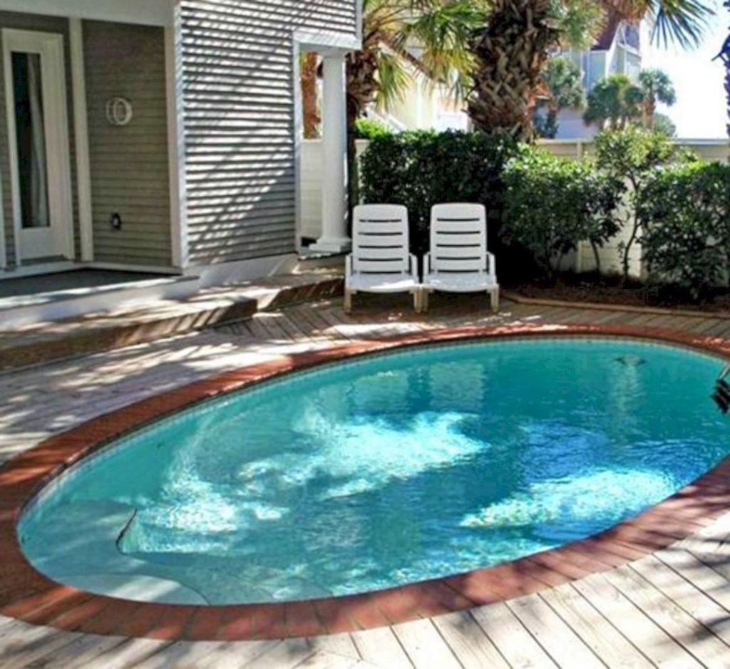 Itty-Bitty Pool house
