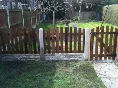 Picket Fence Gate Ideas