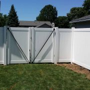 Privacy Fence Double Gate