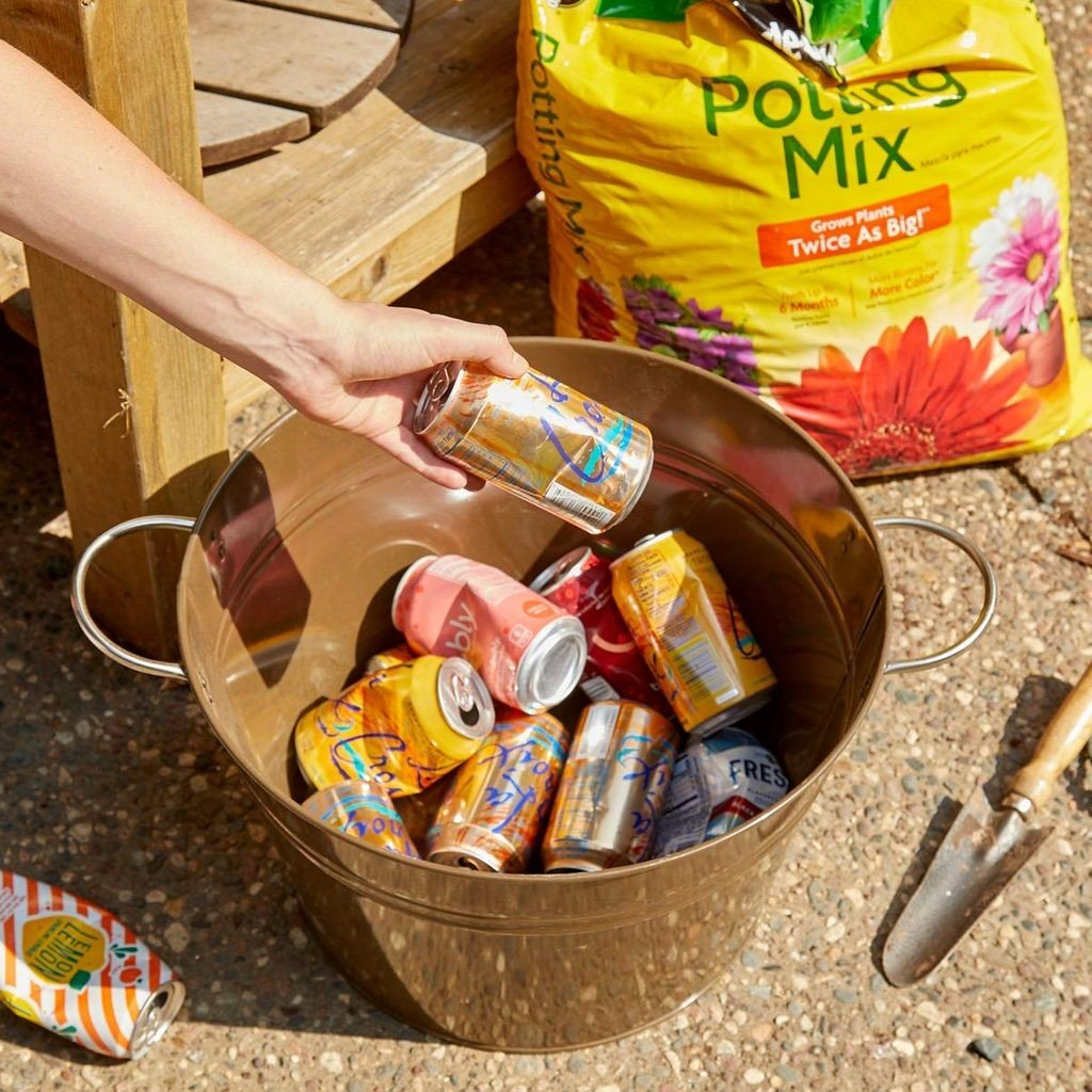 Saving Soil with Empty Cans
