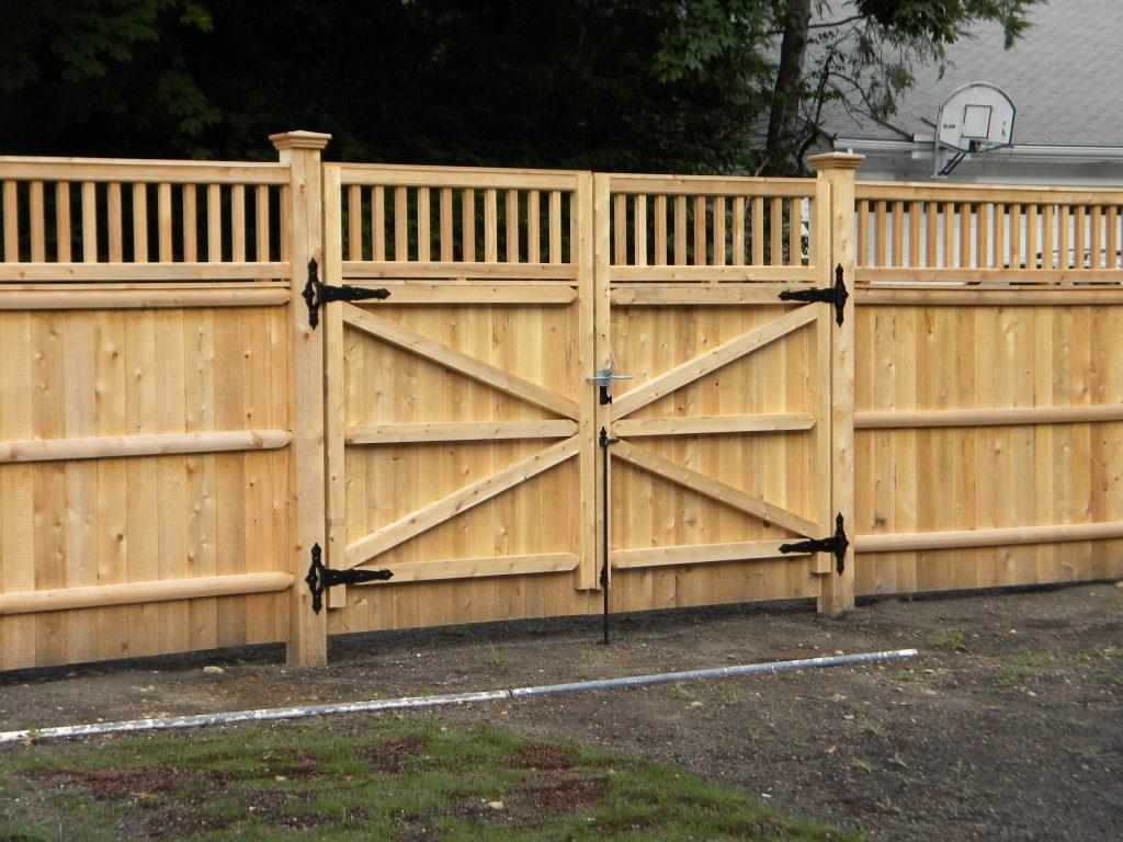 Wood Fence Gate Designs