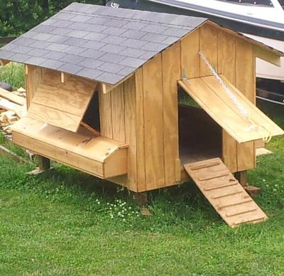 BarnGeek Chicken Coop Plan