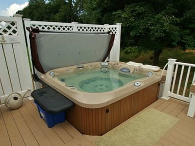 Best Decking Material for Hot Tubs
