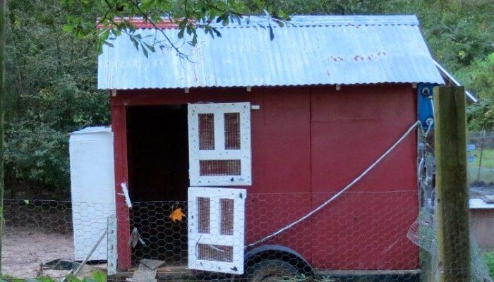 How to Build a Chicken Coop Door with Wire