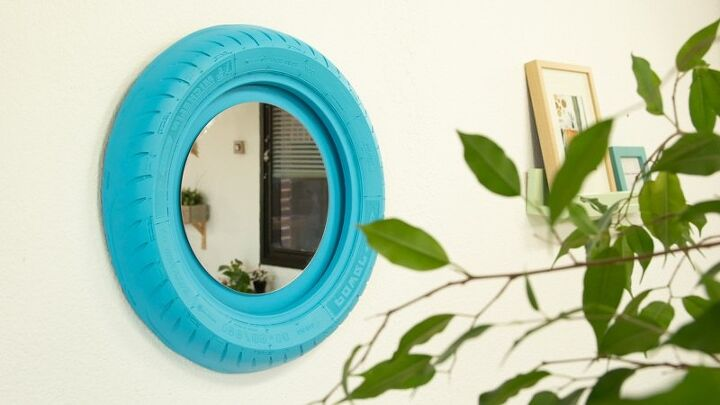 Tire Mirror Frames