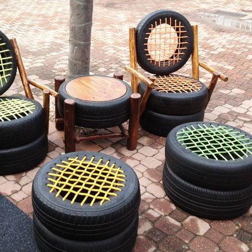 Tire Patio Furniture